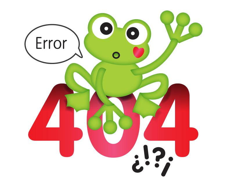 Error 404 - Calmatopic