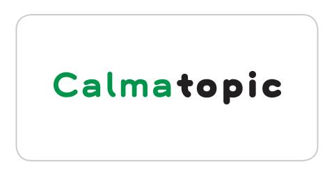 Logotipo Calmatopic