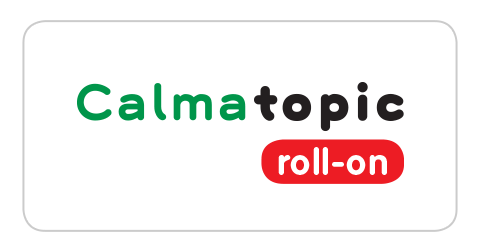 Calmatopic roll-on logo