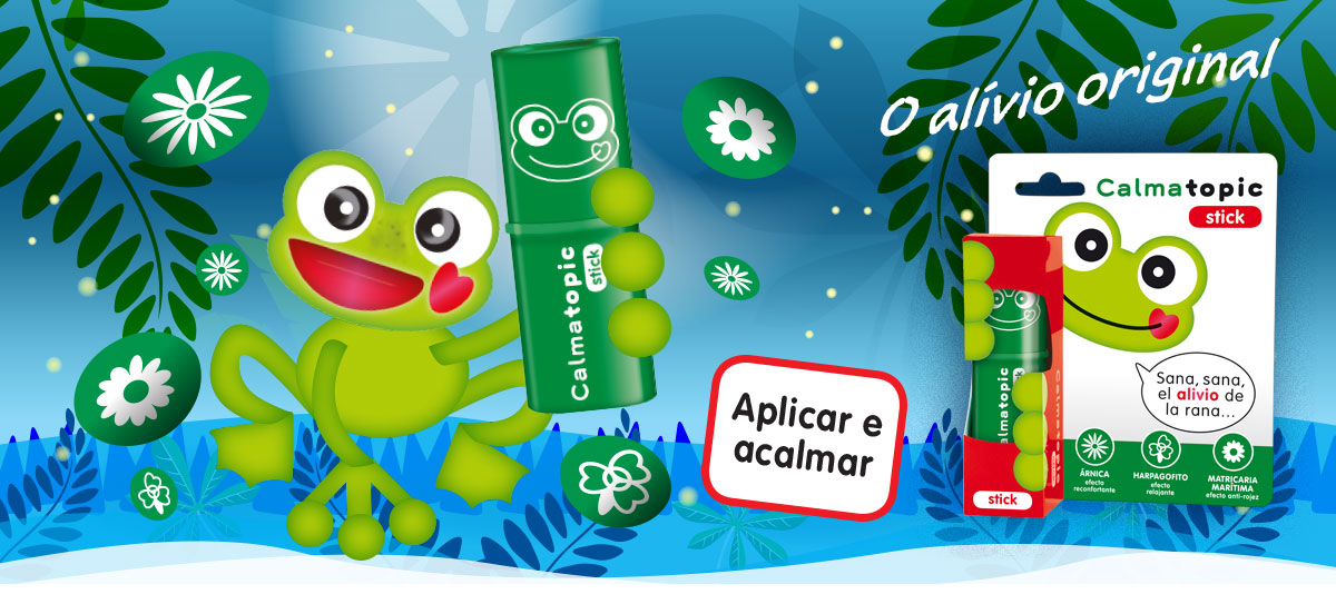 Calmatopic stick, o original