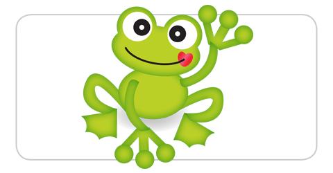 El saludo de la rana