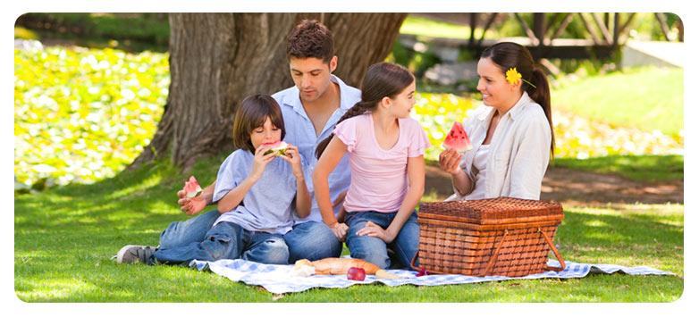 ¡Hoy nos vamos de picnic!