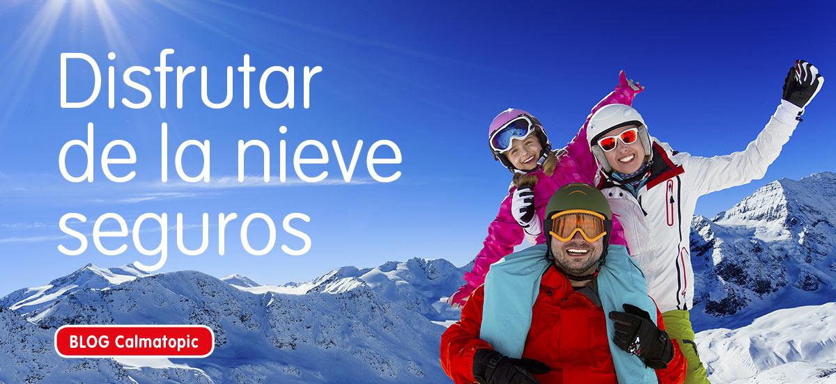 Consejos para disfrutar de la nieve de forma segura