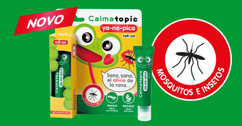 ¡NOVO! Calmatopic YA-NO-PICA roll-on
