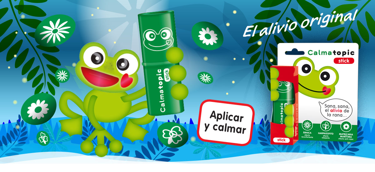 Calmatopic stick, el original