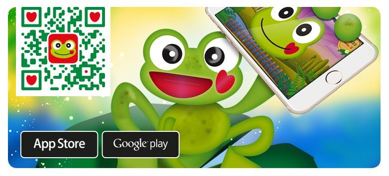 Mais jogos divertidos e educativos disponíveis na App da rã Calmatopic